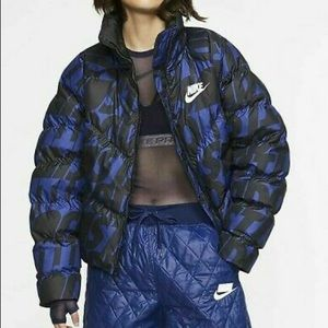 New Nike JDI Printed Puffer Jacket Thermore Bomber